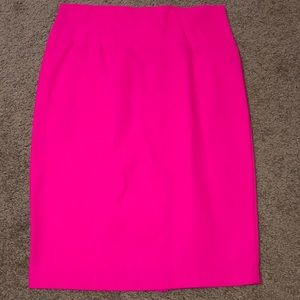 NWOT Hot pink mini pencil skirt-stretchy